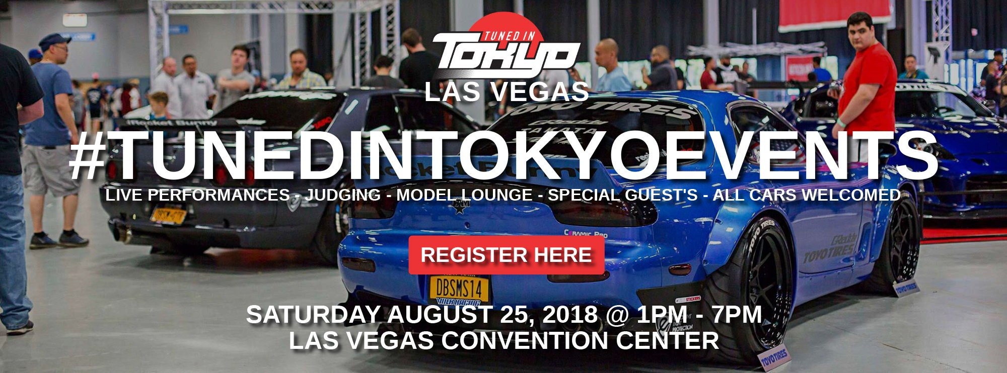 Las Vegas Tunedintokyoevents - Car show in vegas today