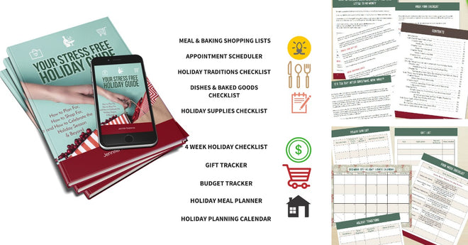 Your Stress Free Holiday Guide Digital Book/Workbook