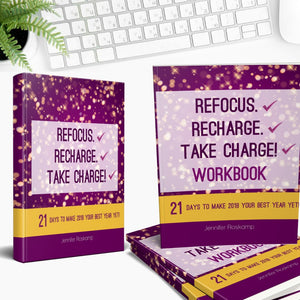 Refocus, Recharge, Take Charge Book/Workbook Bundle
