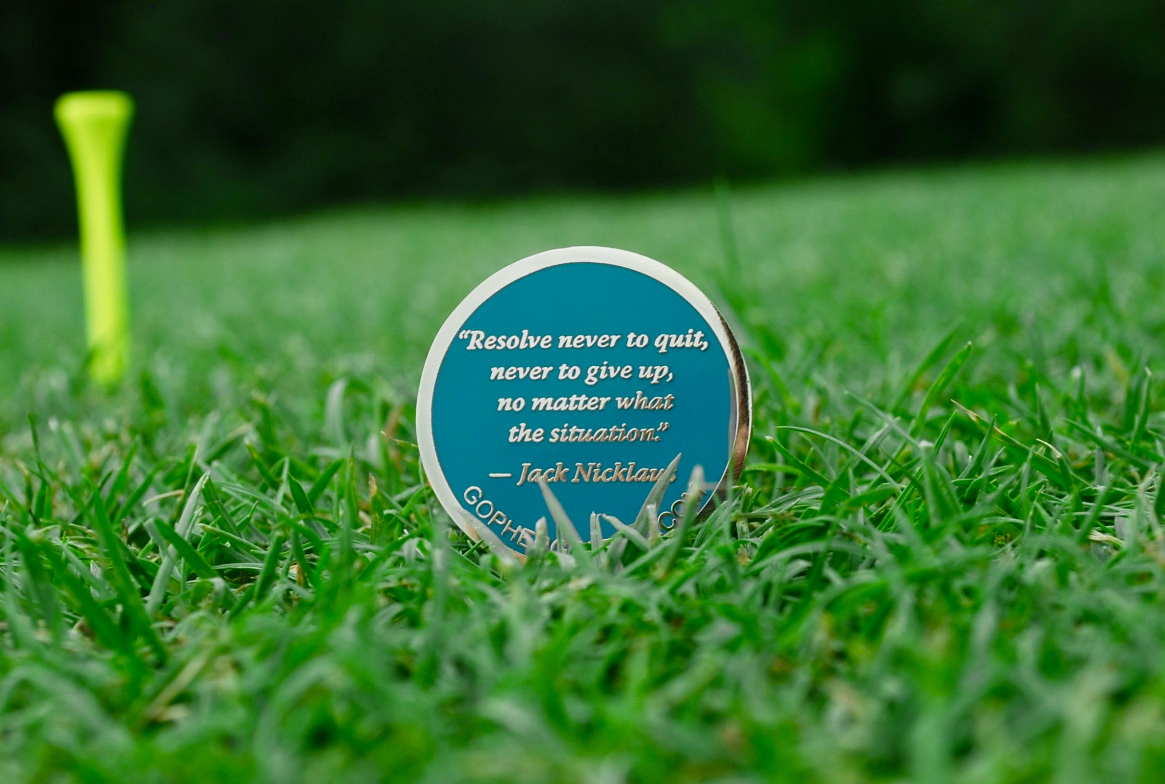 "Ball Marker V ""The Nicklaus"" - Gopher Golf"