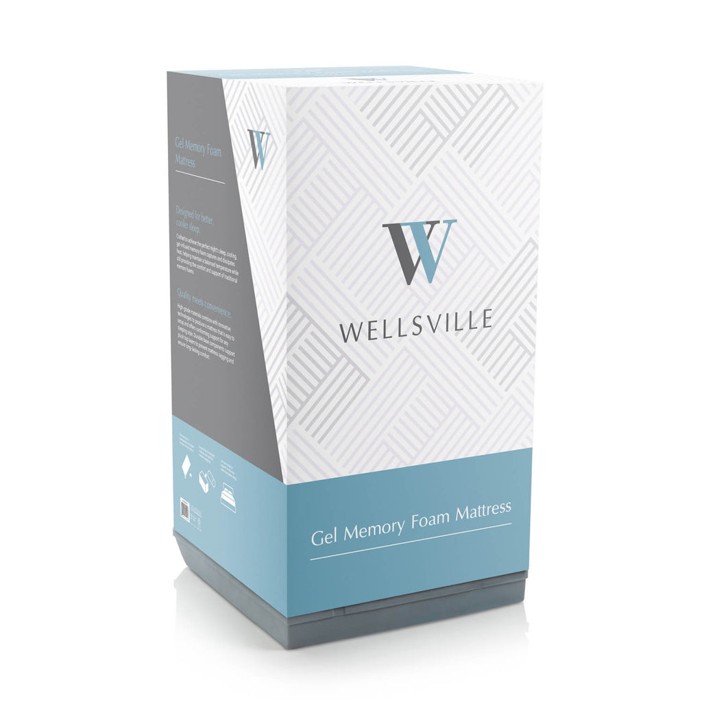 "Wellsville 8"" Gel Foam Mattress"