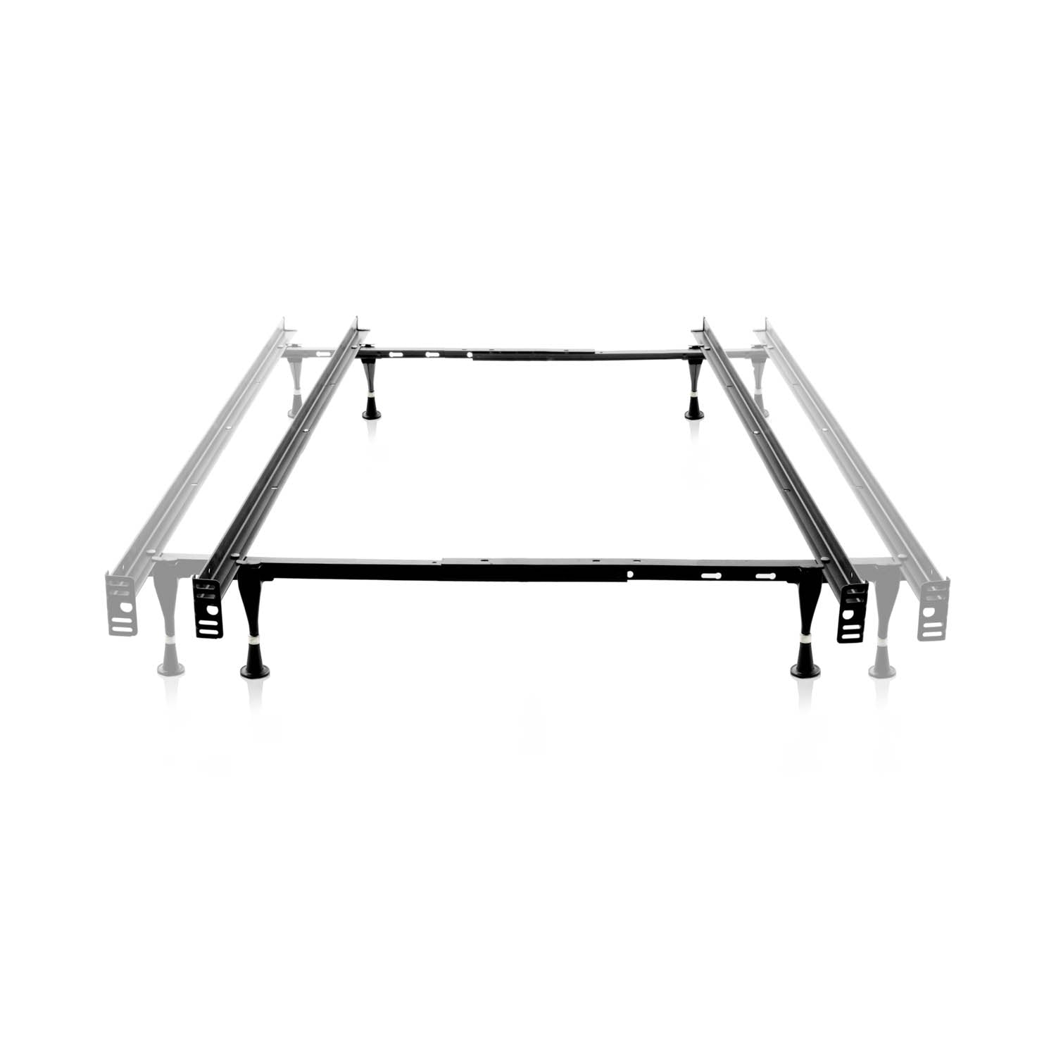 Twin/Full LT Adjustable Bed Frame Glides - Ultimate Comfort Sleep
