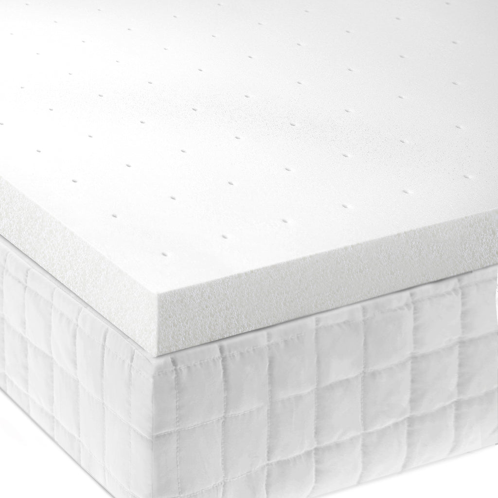 "2"" Memory Foam Mattress Topper - Ultimate Comfort Sleep"