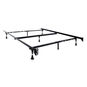 Adjustable Queen/Full/Twin Bed Frame Wheels