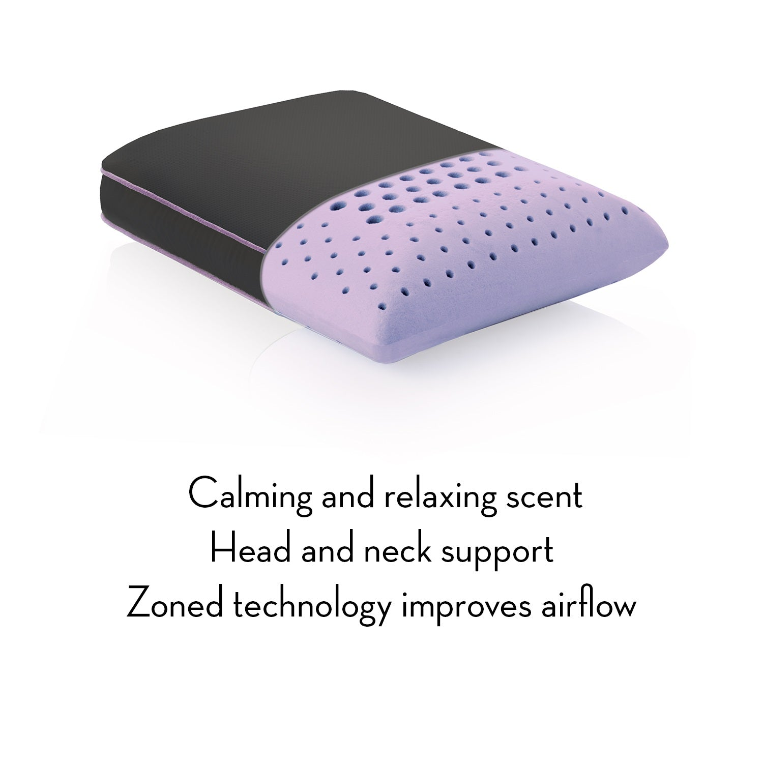 Aromatherapy Travel Zoned Dough Pillow - Ultimate Comfort Sleep