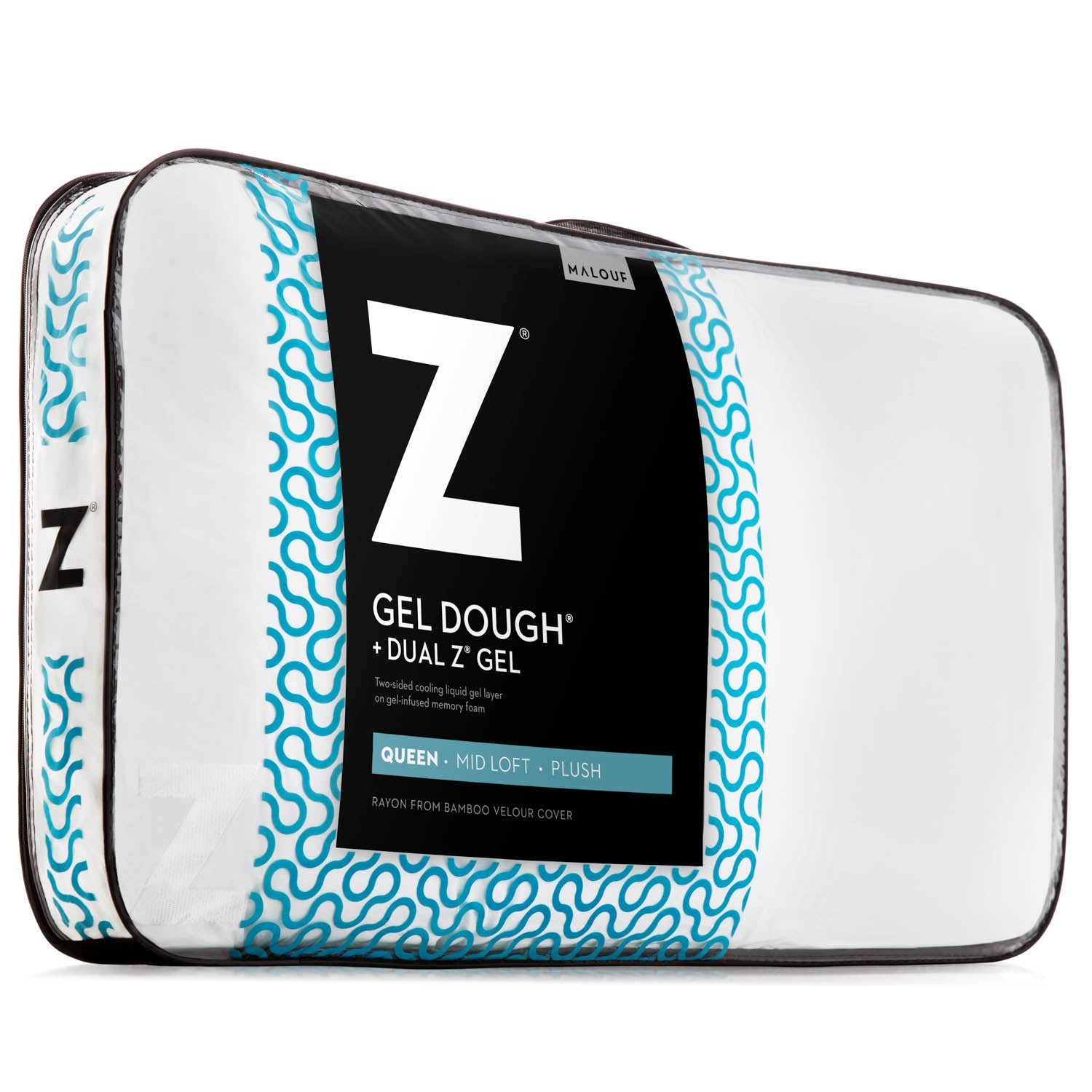 Gel Dough + Dual Z Gel Pillow - Ultimate Comfort Sleep