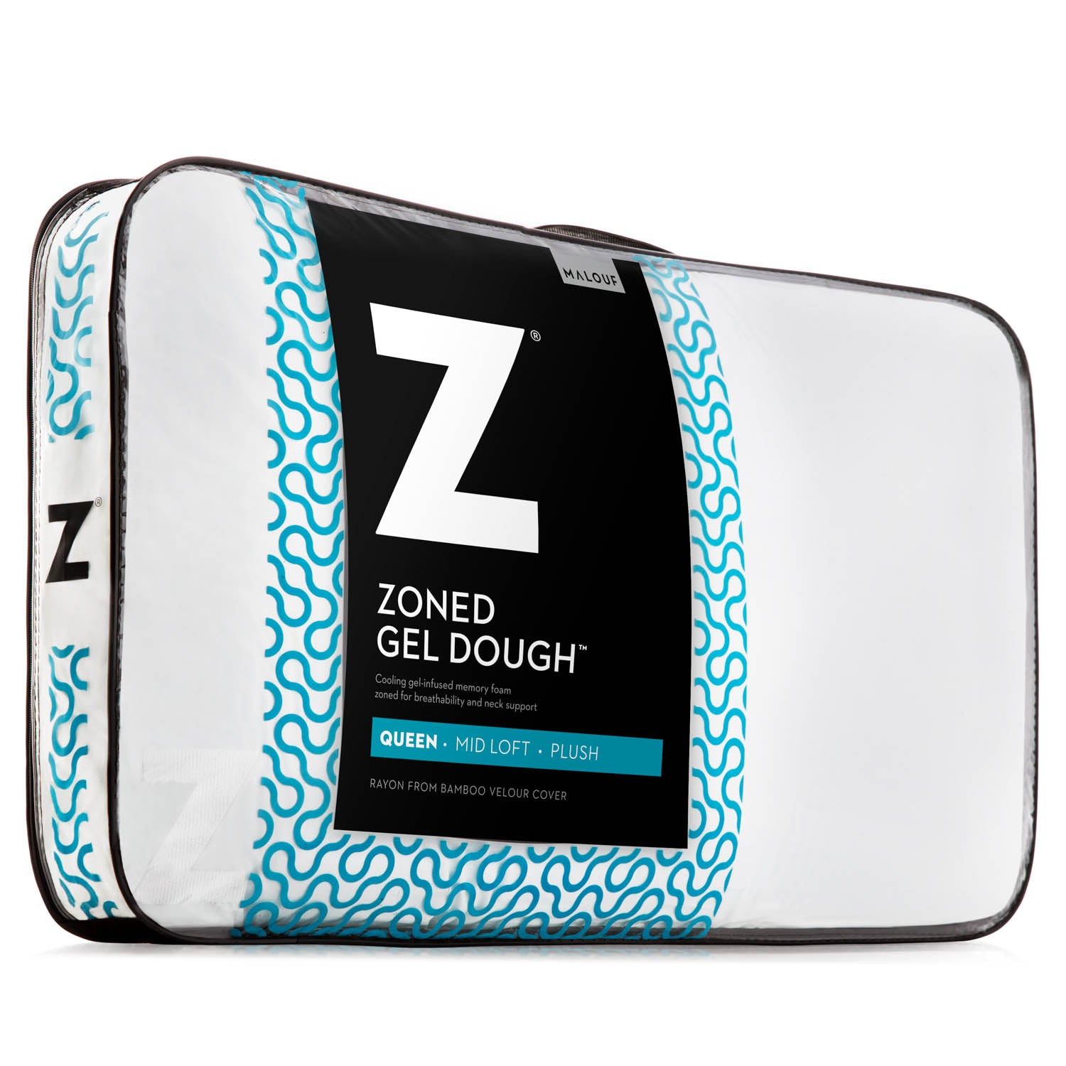 Zoned Gel Dough Pillow - Ultimate Comfort Sleep