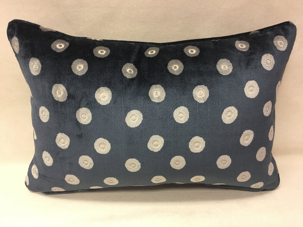 Colefax and Fowler Blue,Grey,Beige and Design Pillow Cover, Eurosham or Lumbar Pillow Accent Pillow, Throw Pillow