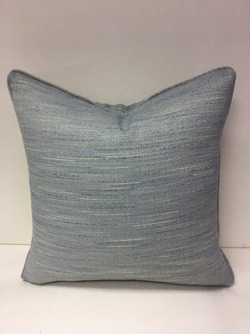 Duralee Blue , Beige, Sea green Design Pillow Cover, Eurosham or Lumbar Pillow Accent Pillow, Throw Pillow