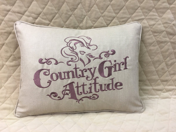 Country Girl Pillow