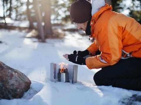 Solo Camp Stove