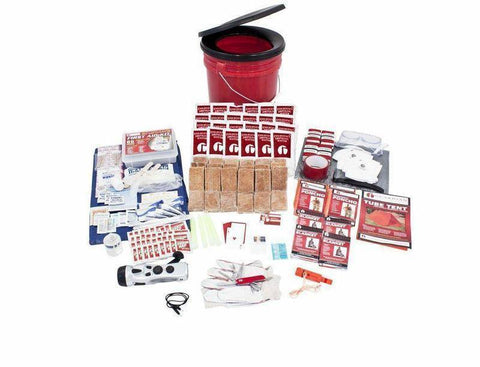 Image of 26Pc Guardian Survival Gear 4 Person Bucket Sewing Kit Multi Tools - Survival Gear Systems