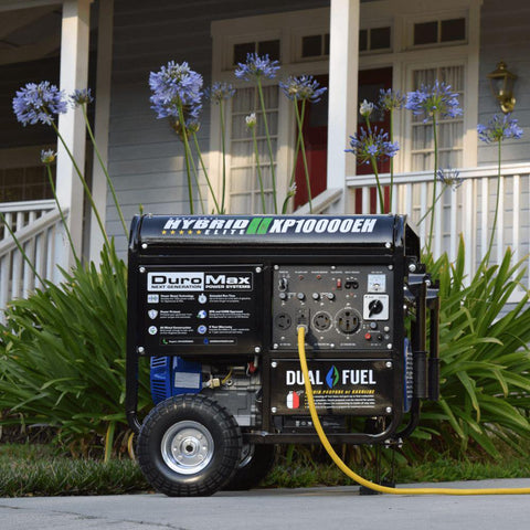 DuroMax XP10000EH 10,000 Watt Dual Fuel Electric Start Generator - Survival Gear Systems