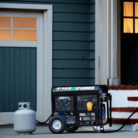 DuroMax XP13000EH 13,000 Watt Dual Fuel Electric Start Generator - Survival Gear Systems