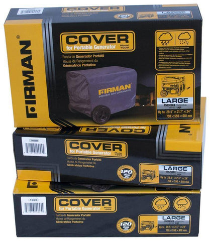 Image of Firman Power Equipment Water-Resistant Cover - 5700W-8000W Generators - Survival Gear Systems