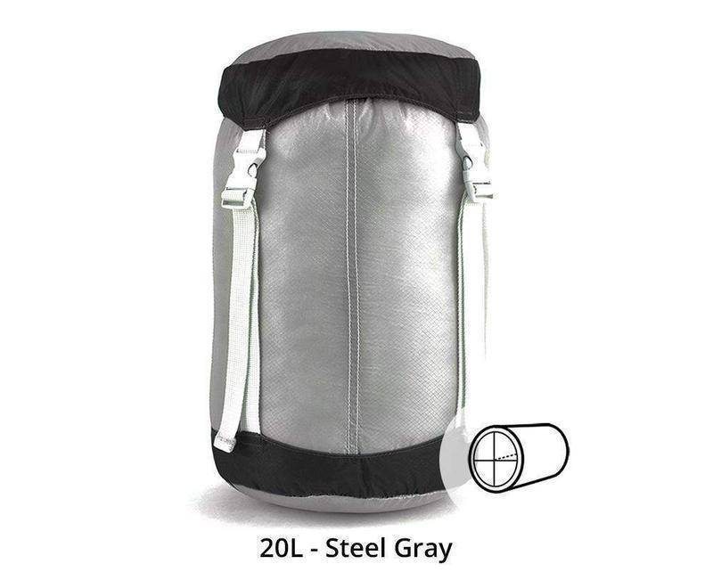 Gobi Gear SegSac Compress-Gobi Gear-Gobi Gear-20L - Steel Gray-Survival Gear Systems