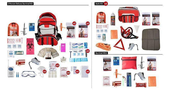 Guardian Survival Gear 2 Person Elite Emergency Survival Kit, sewing kit - Survival Gear Systems