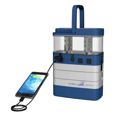 Image of Hydra Light Hybrid Supercell Lantern Blue - GS - Survival Gear Systems