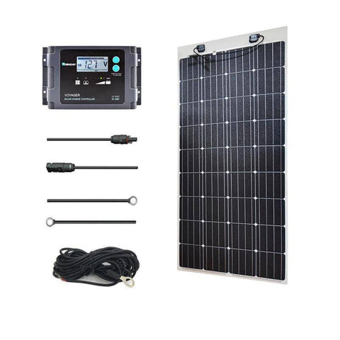 Image of Renogy 160 Watt 12 Volt Solar Marine Kit