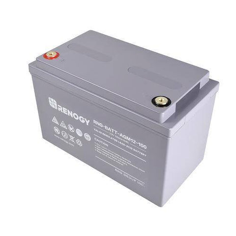 Image of Renogy Deep Cycle AGM Battery 12 Volt 100Ah - Survival Gear Systems