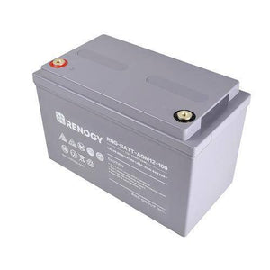 Renogy Deep Cycle AGM Battery 12 Volt 100Ah - Survival Gear Systems