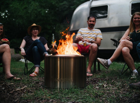 Solo Stove Bonfire Long Burning Backyard Firepit - Survival Gear Systems