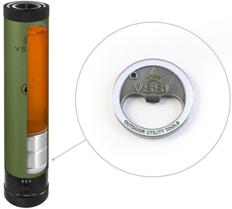VSSL Flask with Compact Design - Survival Gear Systems