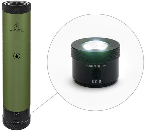 Image of VSSL Flask with Compact Design - Survival Gear Systems