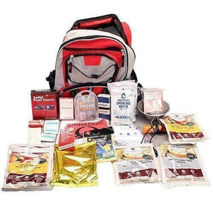 Wise Foods 5 Day Survival Back Pack (Red) - Survival Gear Systems