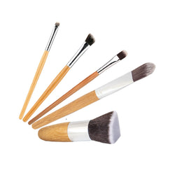 Bamboo Makeup Brushes Set - - 2B Lady