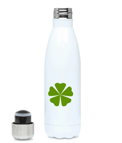 500ml Stainless Steel Water Bottle Clover - - 2B Lady