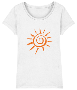 Women's T-shirt Organic Cotton Sun - 2B Lady
