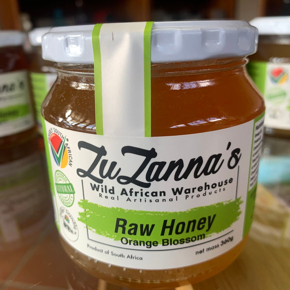 Raw Honey Orange Blossom