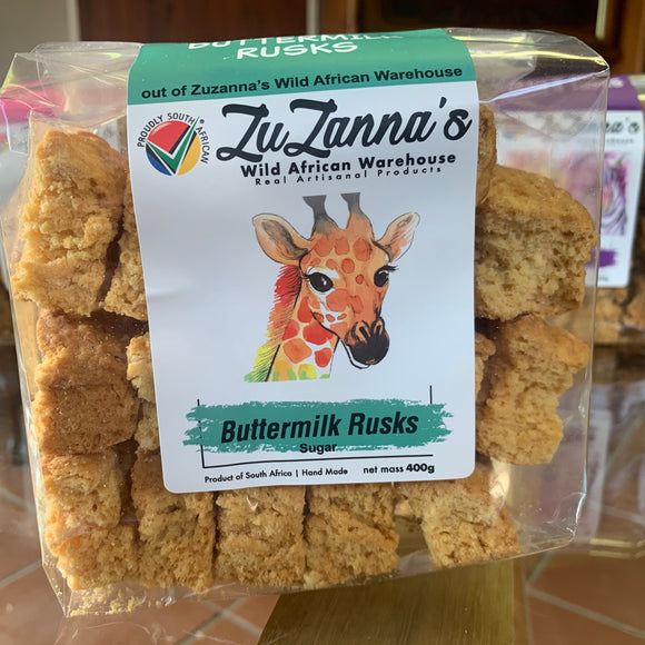 Buttermilk Rusks (with sugar) 400g