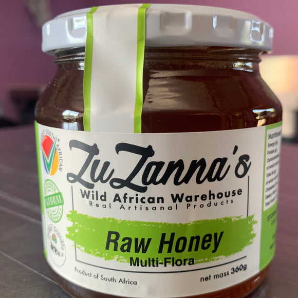 Raw Honey - Multiflora 300g