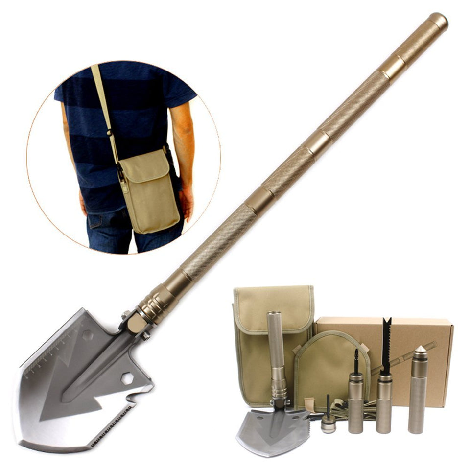 Gold Military Multi-Compact Shovel