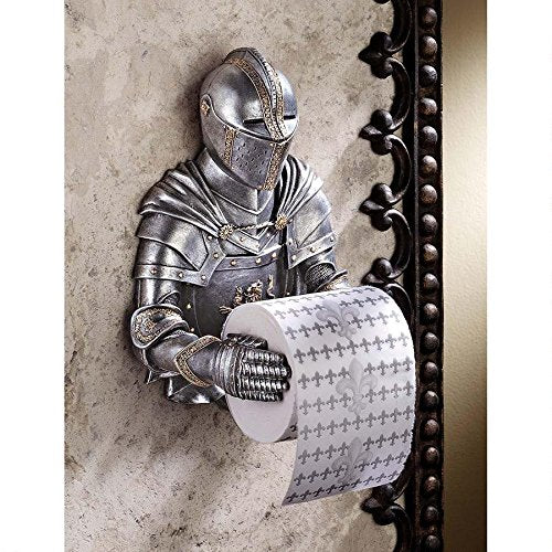 Toscano a Knight to Remember Gothic Bath Tissue Holder