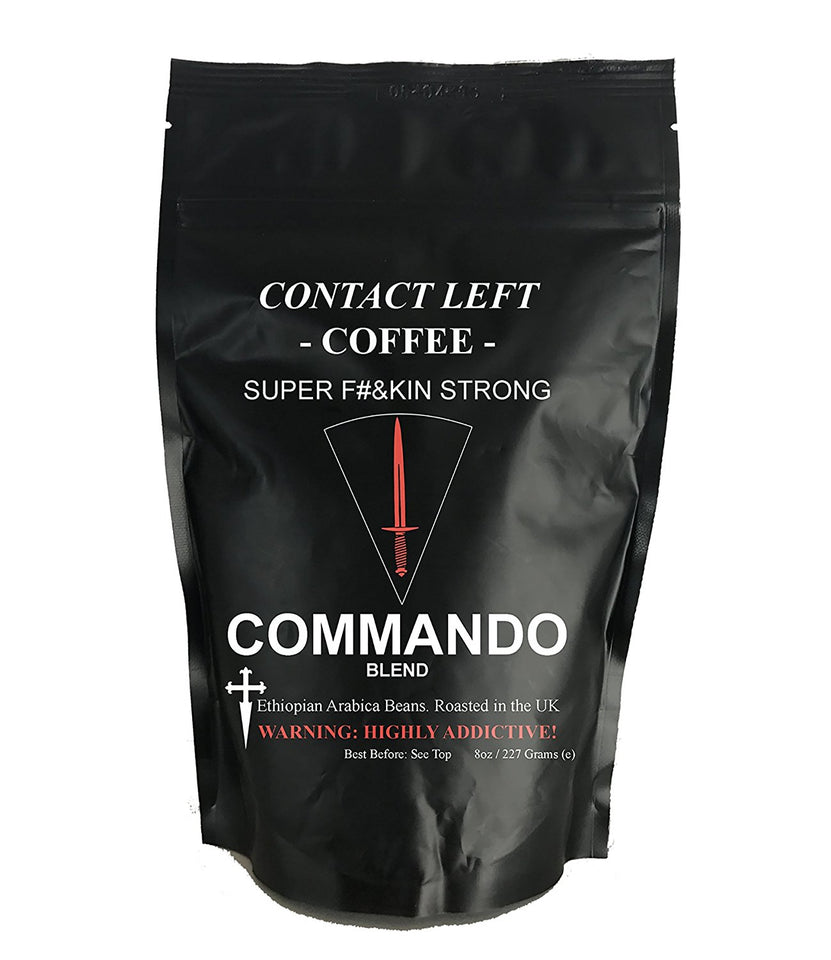 Contact Left - Commando Blend Coffee
