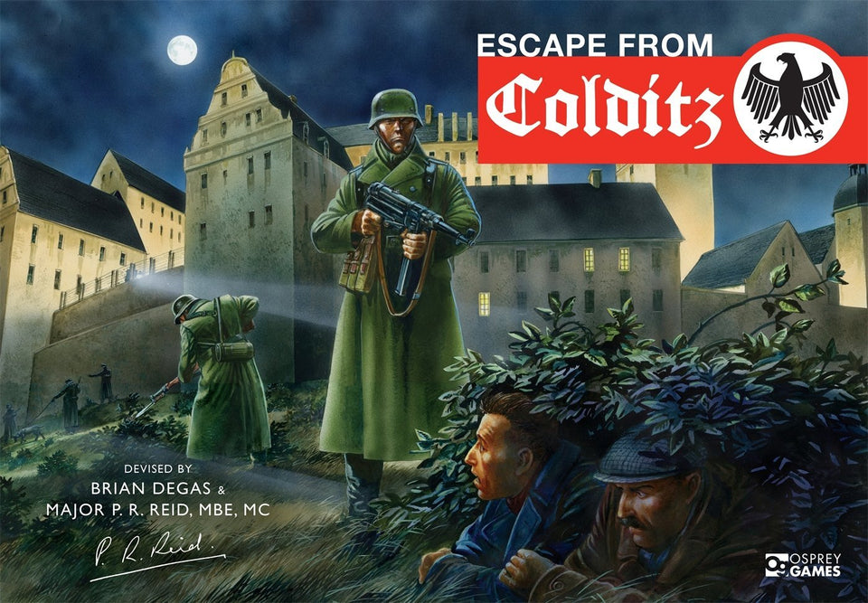 Escape from Colditz Castle World War II Board Game