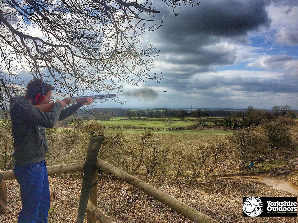 Clay Pigeon Shooting in Yorkshire