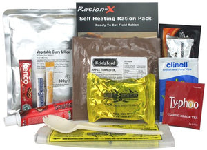 British Army Field Ration Pack