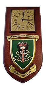 29 Commando Royal Artillery Wall Clock Plaque