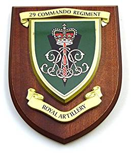 29 Commando Royal Artillery Wall Mess Plaque
