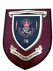 59 Independent Commando Royal Engineers Military Wall Plaque