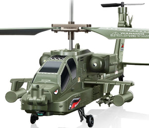 Apache Helicopter Gunship Remote Control Helicopter