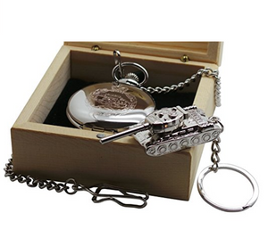 Royal Tank Regiment Pocket Watch Gift Set