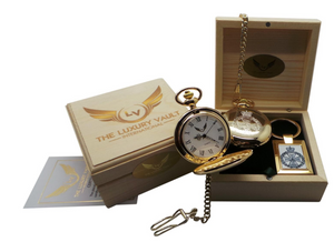 Royal Green Jackets Pocket Watch and Keyring Gift Set