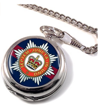 Household Division Full Hunter Pocket Watch