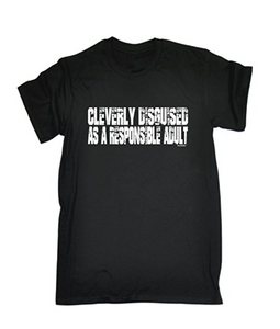 CLEVERLY DISGUISED Printed T-shirt