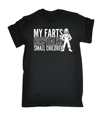 MY FARTS HOSPITALISE Printed T-shirt